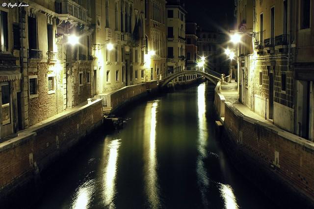 A night in Venice...
