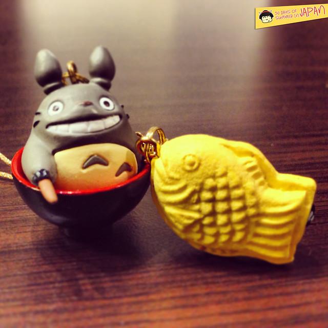 Ghibli Museum Mitaka, Japan - totoro keychain