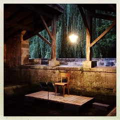 Violincelle dans les arbres commence par une interprétation de ce qu'est un arboretum. Une petite pensée pour Jean Bellot. C'est là où tu rends compte que les années passent... #Melle