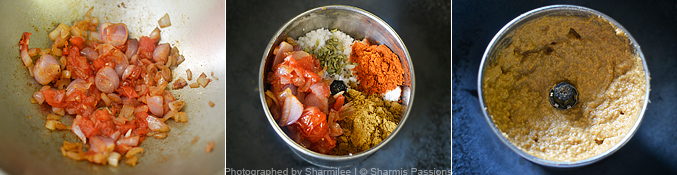 How to make fish kuzhambu - Step1