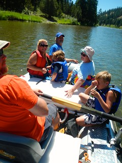 Floating The Blackfoot with Family