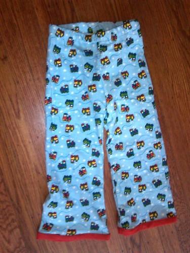 Train pants
