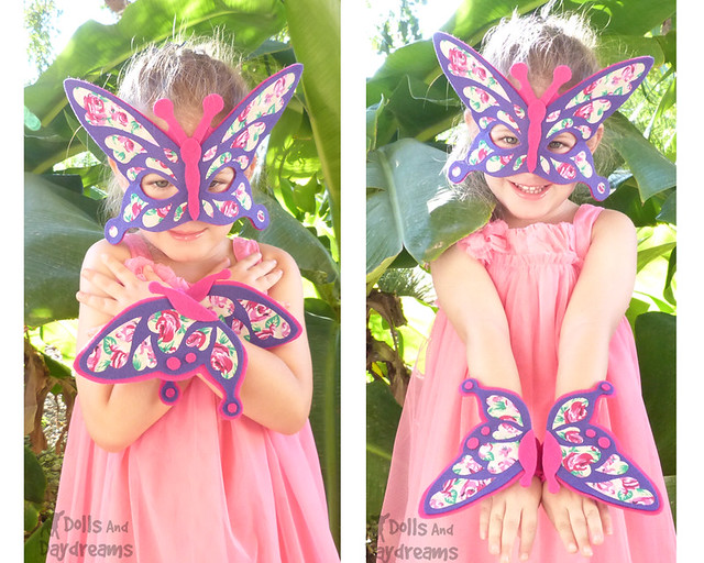 Butterfly fairy wings DIY Costume