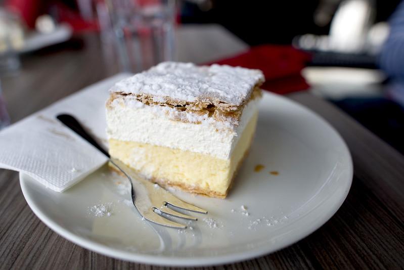 Cream Cake Lake Bled