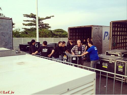 Main Loading Dock Rock in Rio 2014 Photo Lef Carrol IV