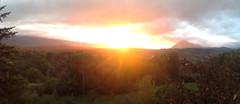 Il primo tramonto di ottobre