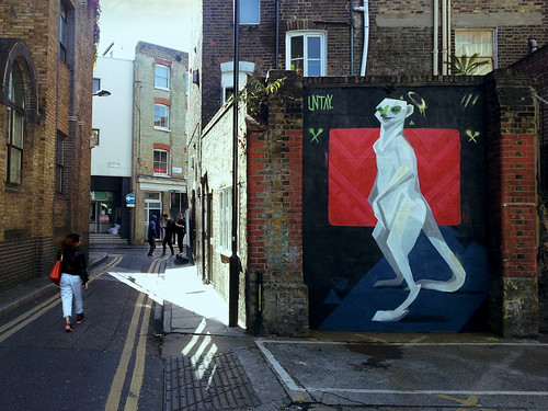 London Meerkat by untayart.com