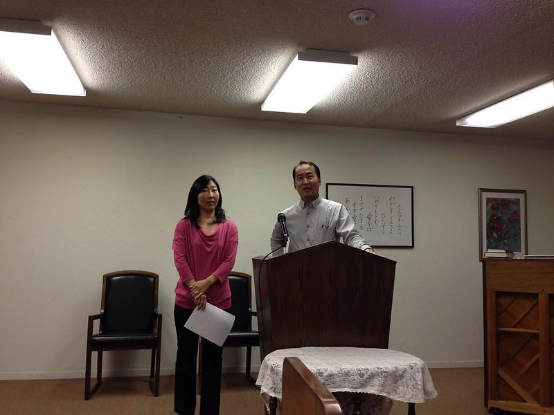 Health talk by Dr.Iwahashi