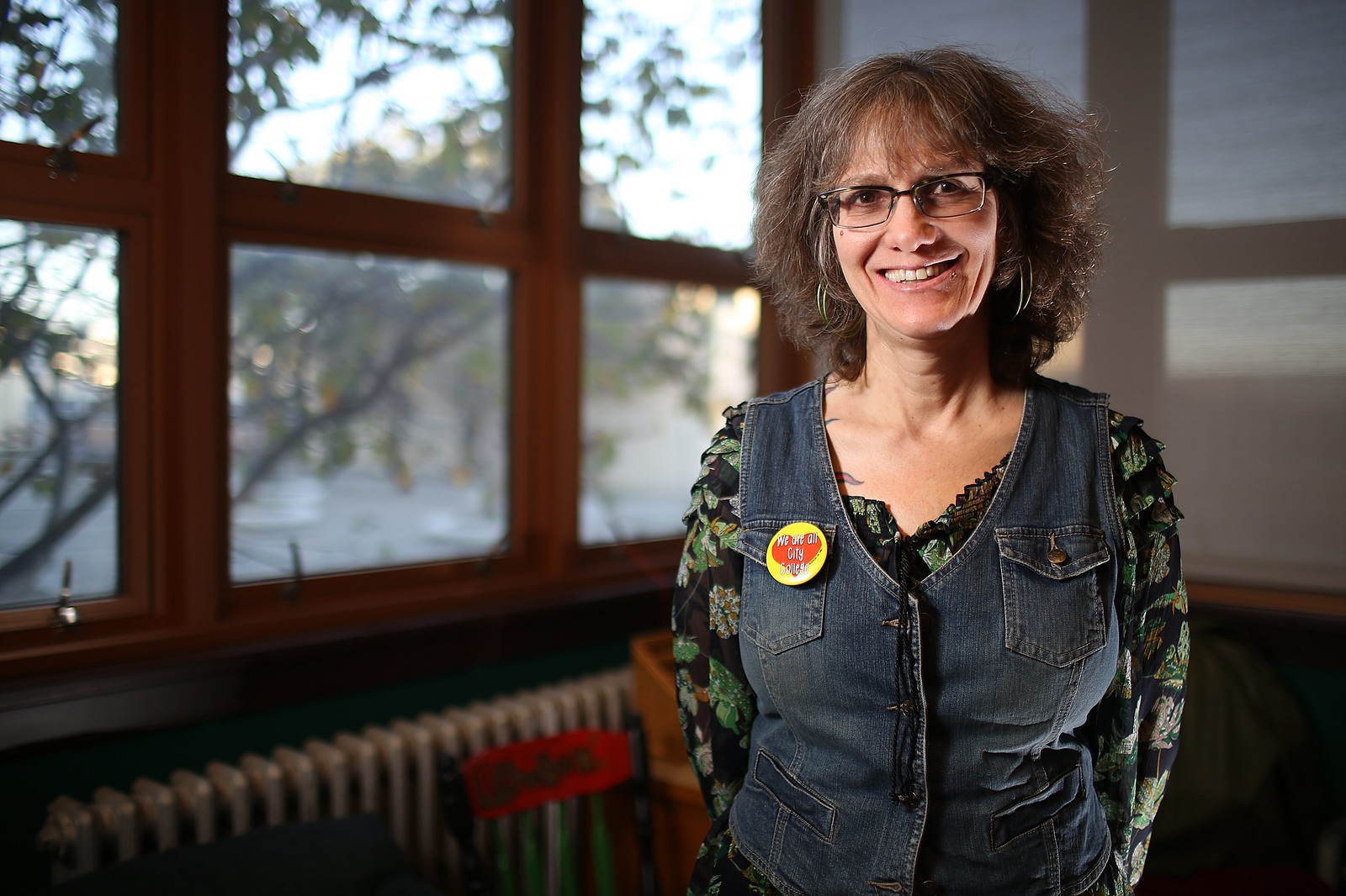Wendy Kaufmyn, head of the direct action commitee for Save CCSF, hopes that the California Student Union conference will