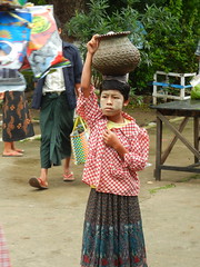 corn vendor girl