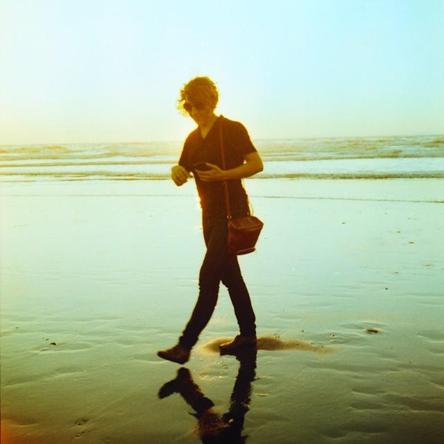 Ocean Beach Reflection