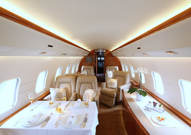 Executive Aircraft Interior Flickr Photo Sharing