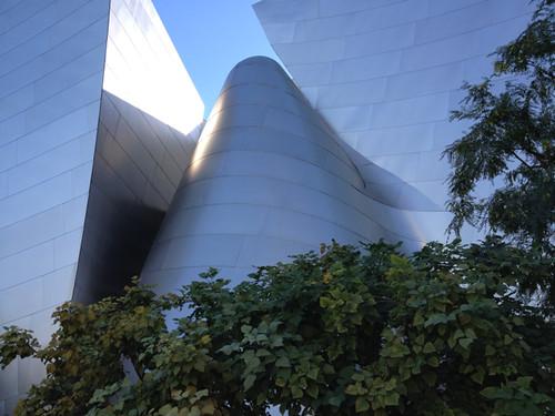Gehry building exterior LA