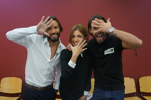 Lúcia Moniz, Pedro e Ricardo Guedes