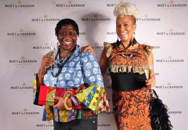 Sherrie Thompson with Bee Arthur (Designer)