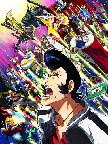 131202(1) - 2014年1月科幻搞笑冒險動畫《スペース☆ダンディ》(SPACE☆DANDY)公開第2支預告&新海報!