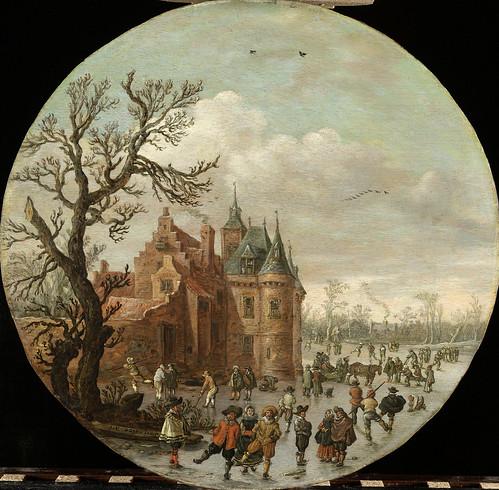 009-Invierno, Jan van Goyen, 1625-Rijkmuseum