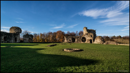 inside Flint castle