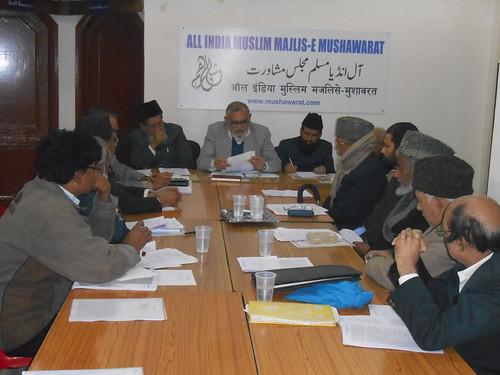 Meeting of Markazi Majlis 21 Dec 2013