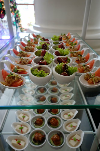 Some of the appetizers - Champagne Brunch - Intercontinental Singapore
