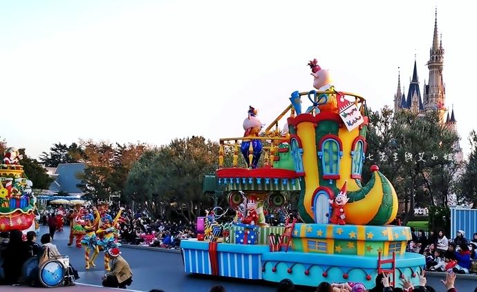 23 迪士尼聖誕村大遊行幸福在這裡夢之光大遊行