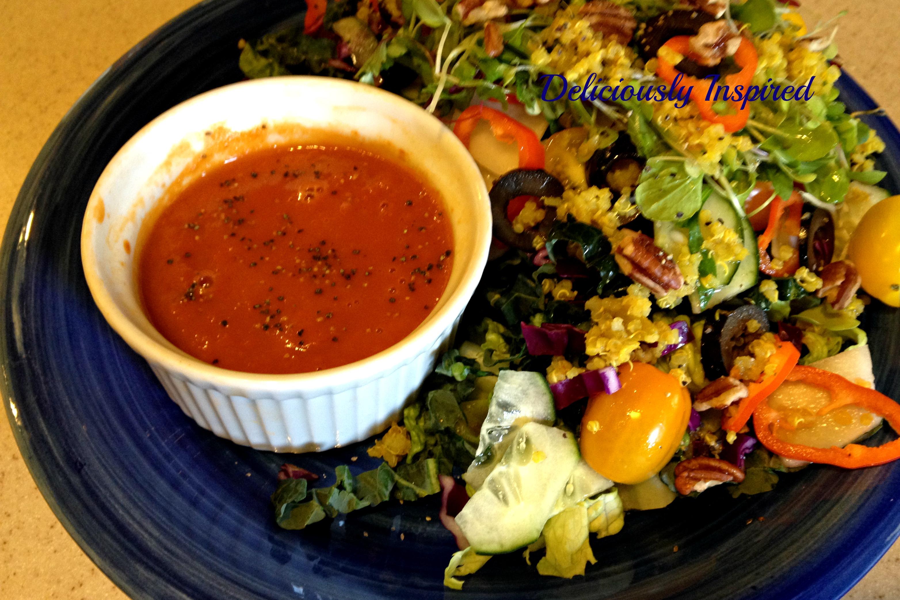 Seasoned Quinoa Salad