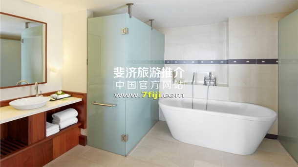 皇家套房浴室