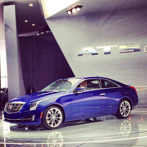 Next World Premiere: The 2015 #Cadillac ATS Coupé @ NAIAS 2014 ... #naias #naias2014 #detroit #autoshow #miniusa #press #pressconference #worldpremiere  @cadillac #uscars #GM