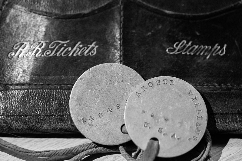22/365 World War One I.D.Tags and Wallet