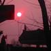 The rare winter sunset in Suzhou