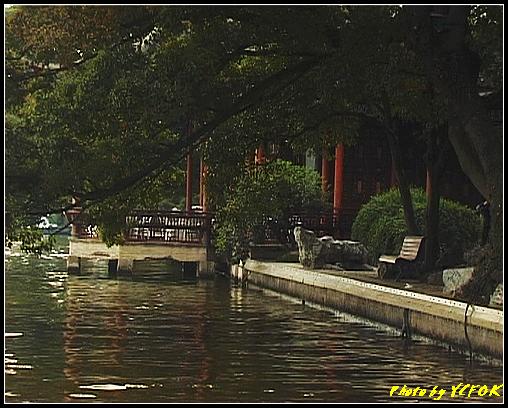 杭州 西湖 (其他景點) - 177 (白堤上的西湖十景之 平湖秋月)