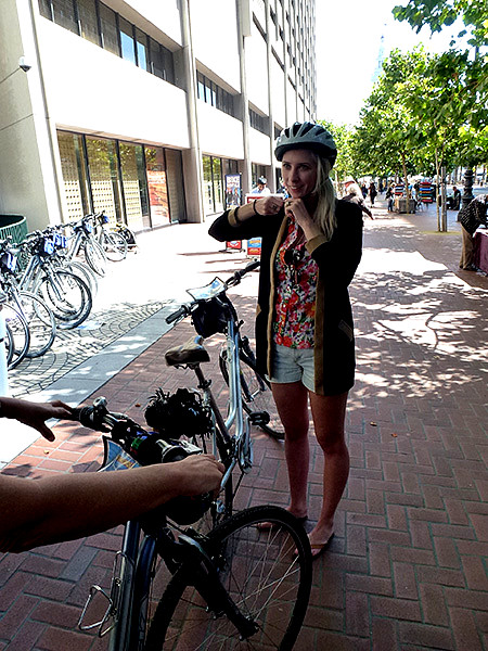 You are generally able to hire bikes throughout the city of San Francisco that are well set up and provide an enjoyable ride through the city