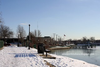 Along Lake George 2010.