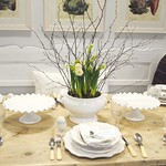 Easter Table setting @Country Living Fair