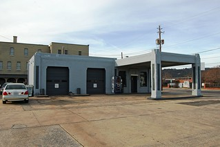 Alabama, Gadsden, Former Texaco gas station (9,371)