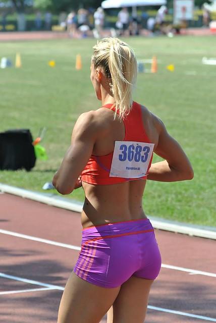 Hot European Athlete