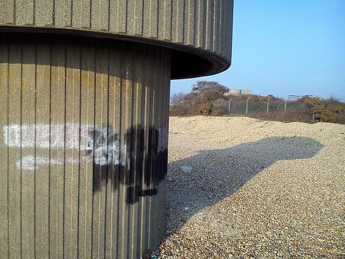 Brutalism on Browndown