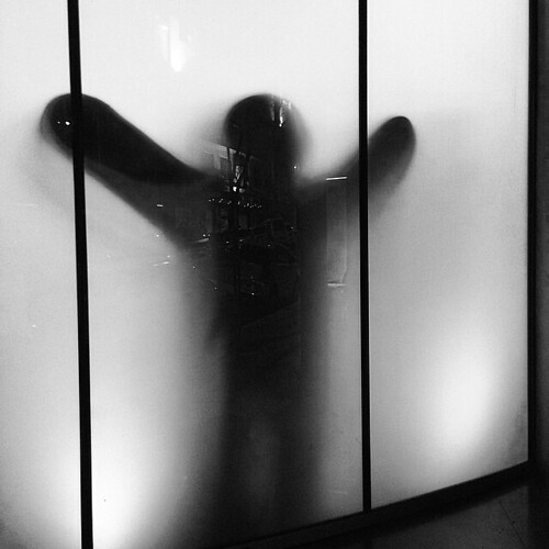 #Frosted #glass #hug #monster by Joaquim Lopes