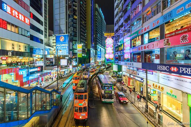 Hong Kong viajar preparativos - Hong Kong de noche