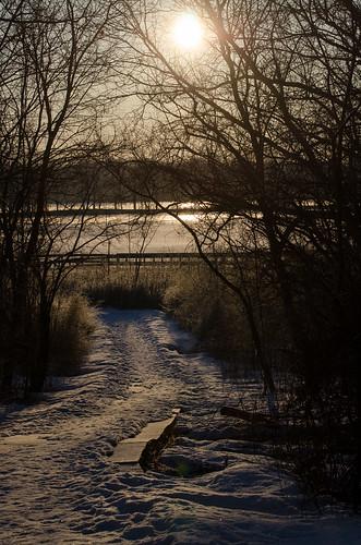 morning winter sunrise fordlake ypsilanti washtenawcounty tamron70300mm tamron70300mmf456 tamronsp70300mmf456divcusd