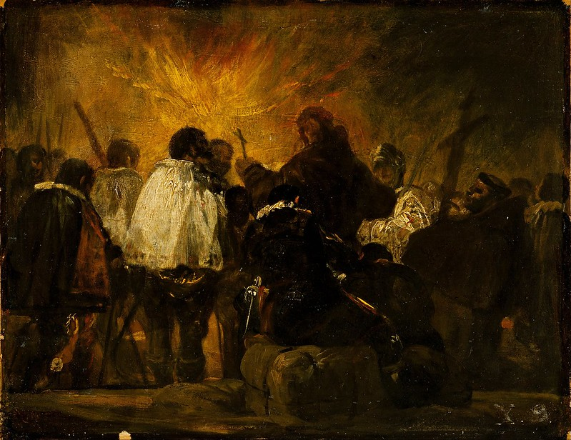 Francisco Goya - Night Scene from the Inquisition (1810)