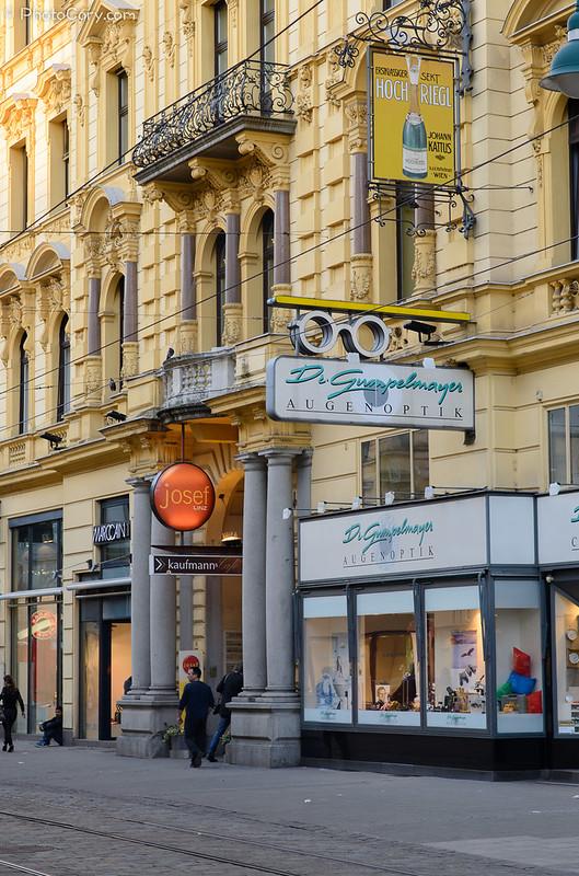 Linz, Austria - main street
