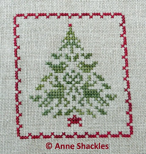 JBW Designs-Christmas Keepsakes II Tiny Motif Tree