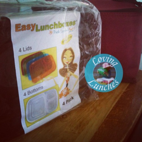 Loving mail… Thank you @easylunchboxes Can't wait to get packing!