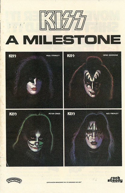 Kiss Solo Albums (Released: 09/18/78)(Comic Book Size Ad)