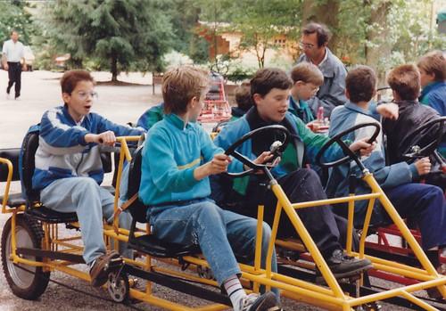 Brugklasuitstapje juni 1988