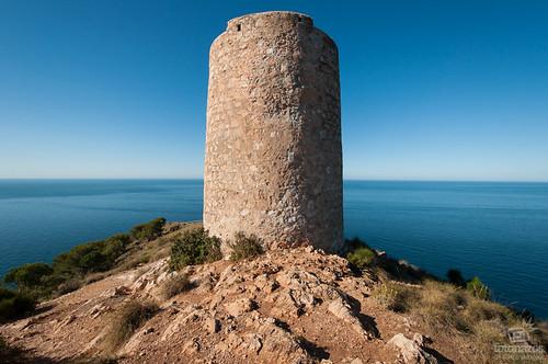 El mirador de Cerro Gordo en La Herradura