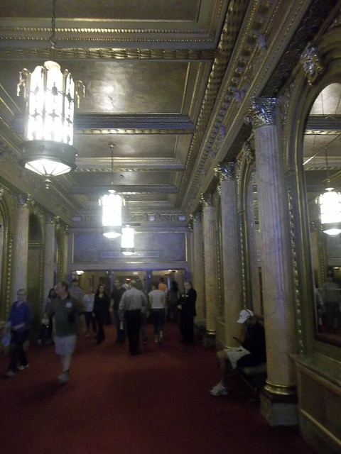 Entering the Elgin and Winter Garden Theatres