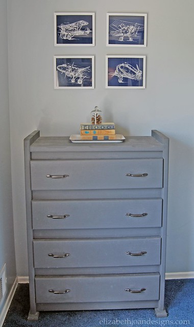 Childhood Dresser Makeover