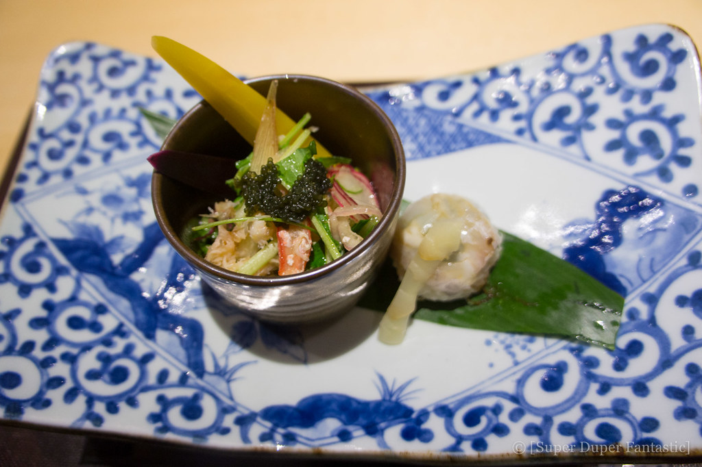 Omakase - Lobster Snow Crab Salad